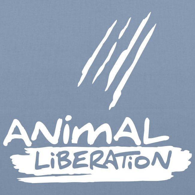 BIO-Stofftasche 'Animal Liberation'