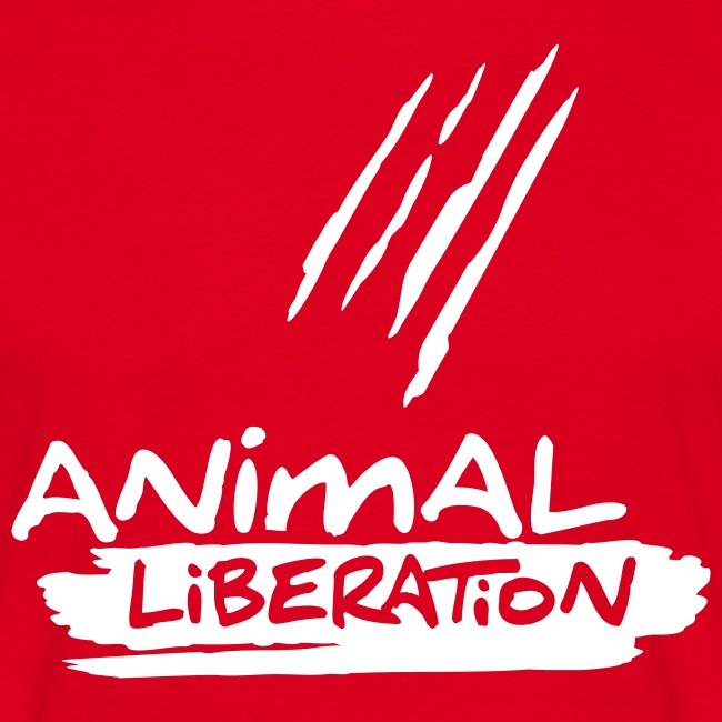 Mens Basic-Shirt 'Animal Liberation'
