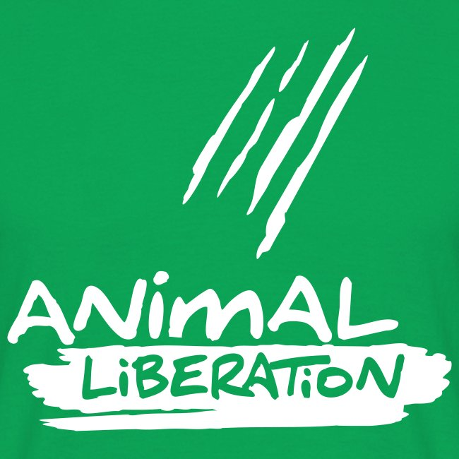 Mens Basic-Shirt 'Animal Liberation'