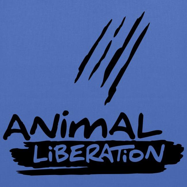 Stofftasche 'Animal Liberation' BL