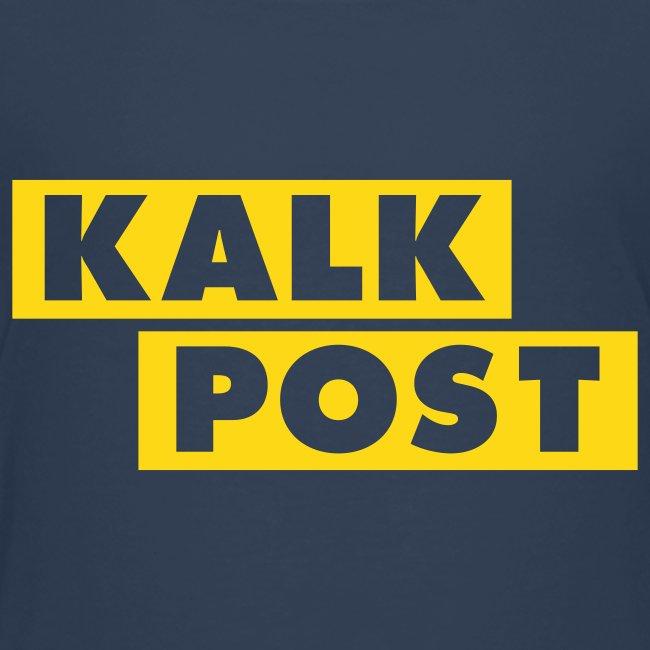 Kindershirt mit Kalk Post Balken