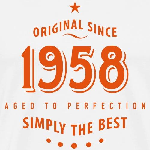 original since 1958 simply the best 60. Geburtstag