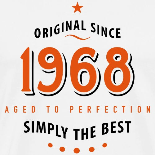 original since 1968 simply the best 50. Geburtstag