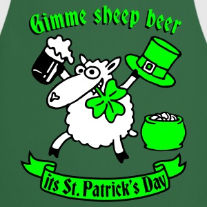 st_patricks_sheep Tabliers - Tablier de cuisine