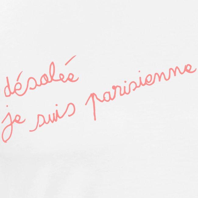 "t-shirt ""parisienne"""