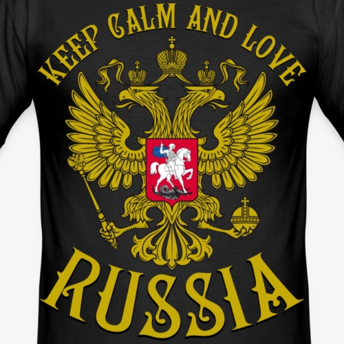 123 Keep Calm and love Russia Russland Rossia