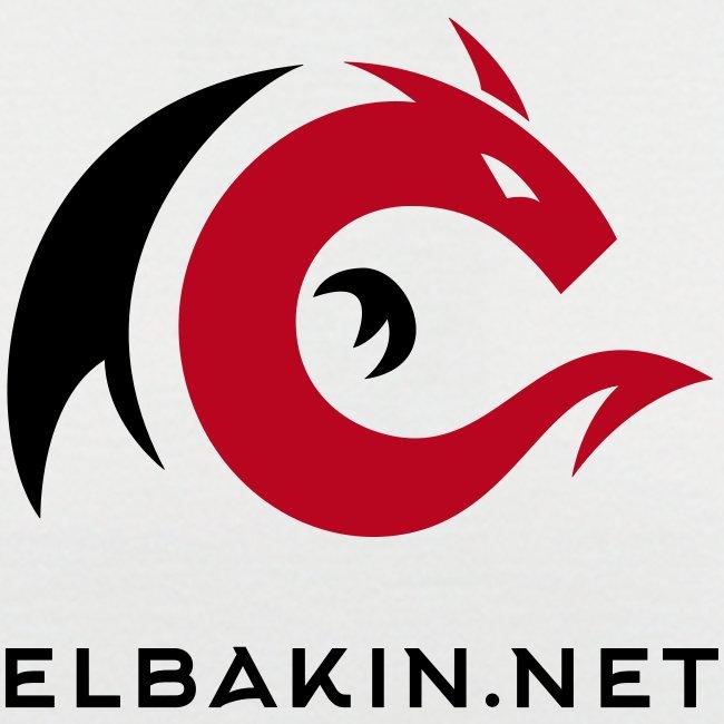 T-shirt homme bicolore logo bicolore