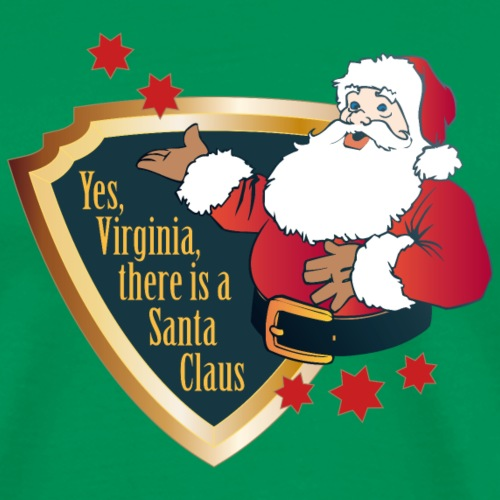 yes Virginia there is a Santa Claus Weihnachtsmann