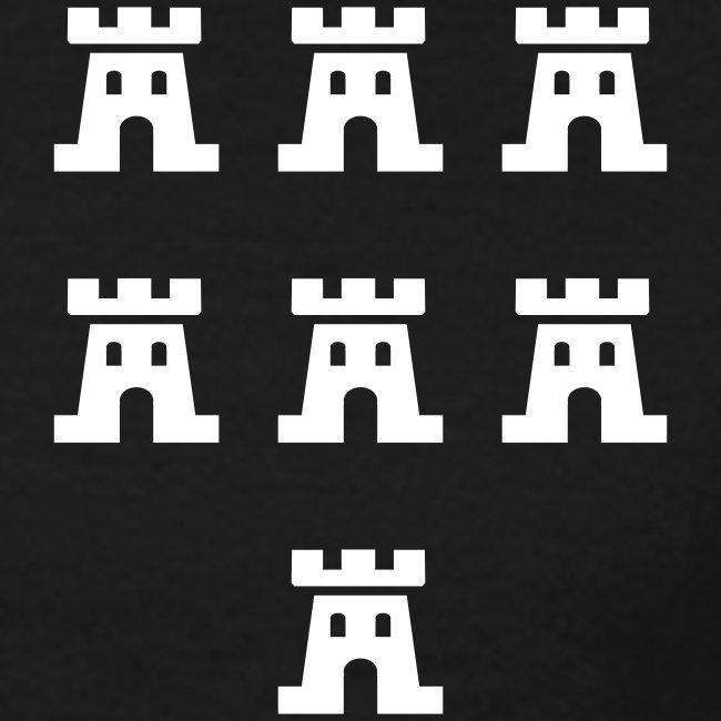 Sieben Burgen der Siebenbürger Sachsen - Siebenbürgen - Transylvania - Erdely - Ardeal - Transilvania - Romania - Rumänien