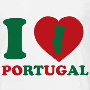 I Love Portugal - T-shirt Homme