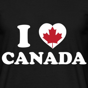I Love Canada - T-shirt Homme