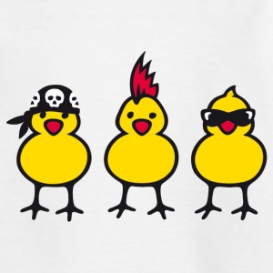 Three Chicks T-shirts - T-shirt tonåring