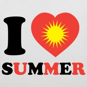 I Love Summer - Tote Bag