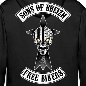 Breizh Bikers skull