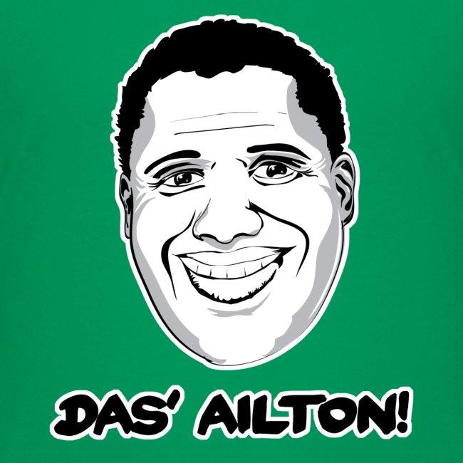 """""""Das' Ailton"""" Teenager Premium T-Shirt - freie Farbwahl"""