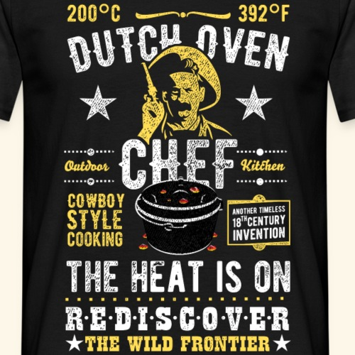 Dutch Oven, Outlaw, distressed