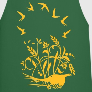 Green Mauersegler / swifts (1c)  Aprons - Cooking Apron