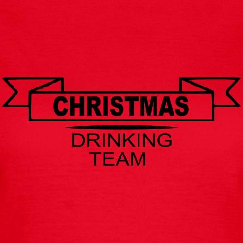 christmas drinking team