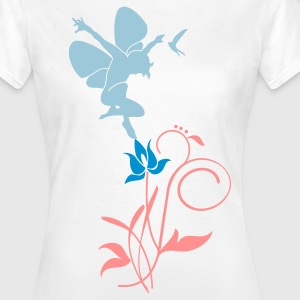 Blanc Orchidee / orchid (2c) T-shirts - T-shirt Femme