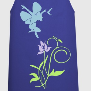 Royal blue Orchidee / orchid (2c)  Aprons - Cooking Apron