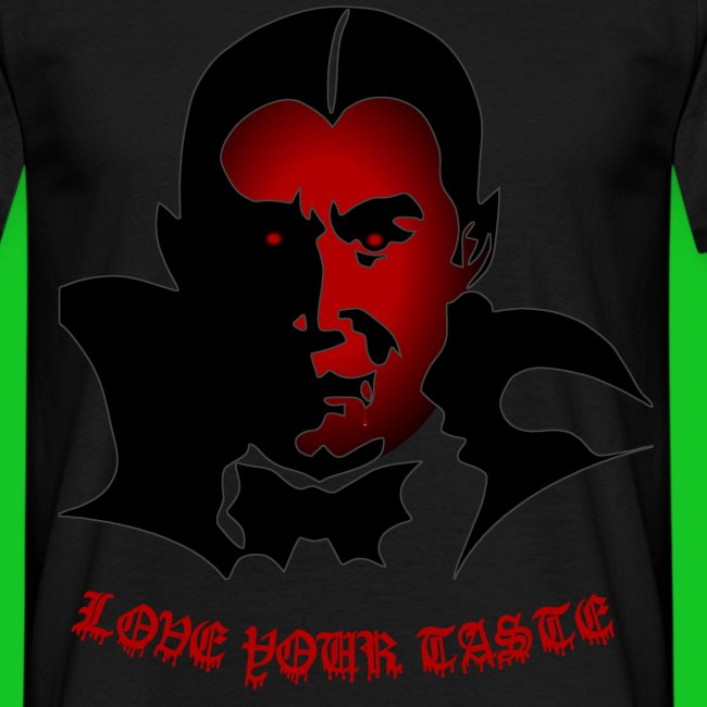 Vampier heren t-shirt