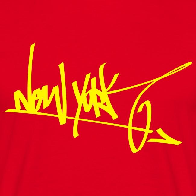 New York Tag