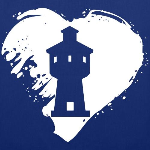 Langeoog Wasserturm Herz Shop