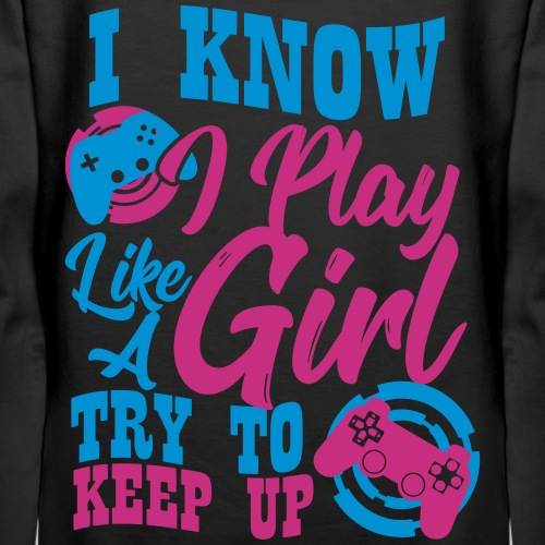 Game Girl Try To Keep Up