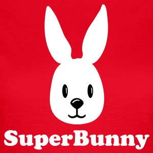 Red bunny hase häschen rabbit face  Women's T-Shirts - Women's T-Shirt