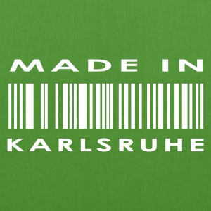 Leaf green Karlsruhe Bags  - EarthPositive Tote Bag