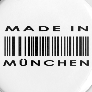 White Munich, München Buttons - Buttons medium 32 mm