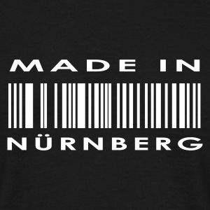 Sort Nürnberg T-shirts - Herre-T-shirt