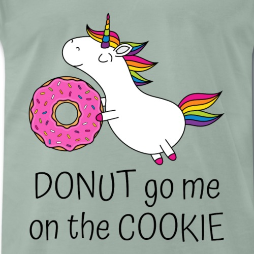 Einhorn Donut Go Me On The Cookie mit Donut