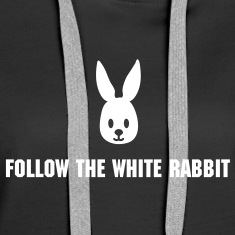 Black easter bunny rabbit hase sweetheart Hoodies & Sweatshirts