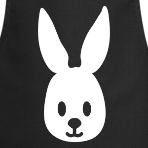 Black easter bunny rabbit hase sweetheart  Aprons - Cooking Apron