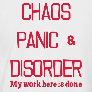 Chaos Panic & Disorder - Men's Baseball T-Shirt