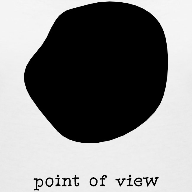 Point of view, Ws Tee, printed on front and back