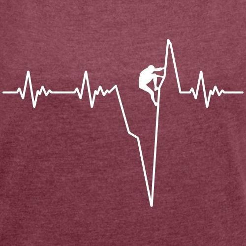 Heartbeat climb ECG