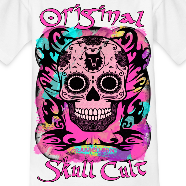 ORIGINAL SKULL CULT PINK KIDS