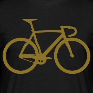 racing  bicycle - Herre-T-shirt