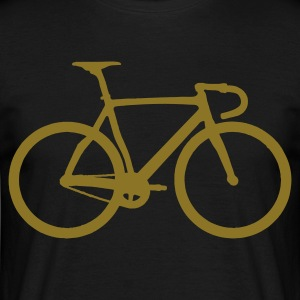 racing  bicycle - Men's T-Shirt