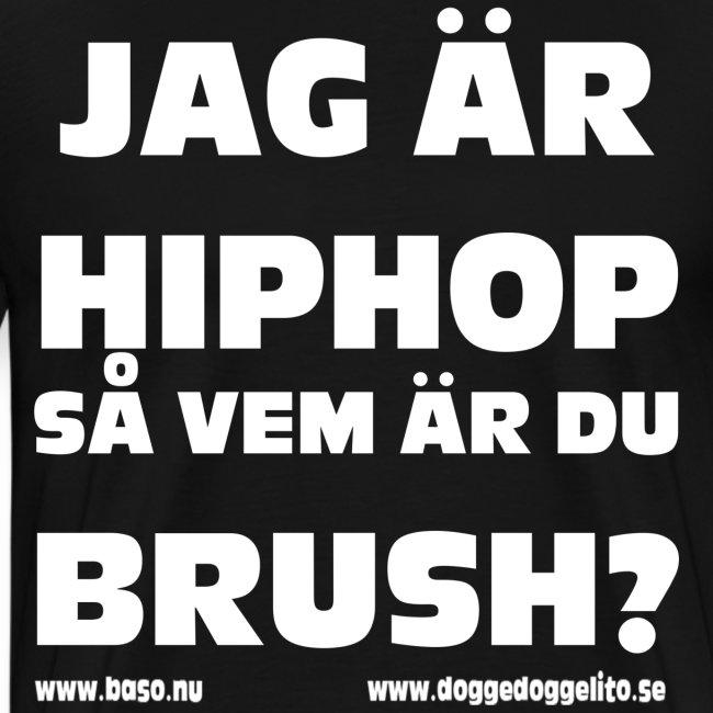 Baso - logo - dark shirt