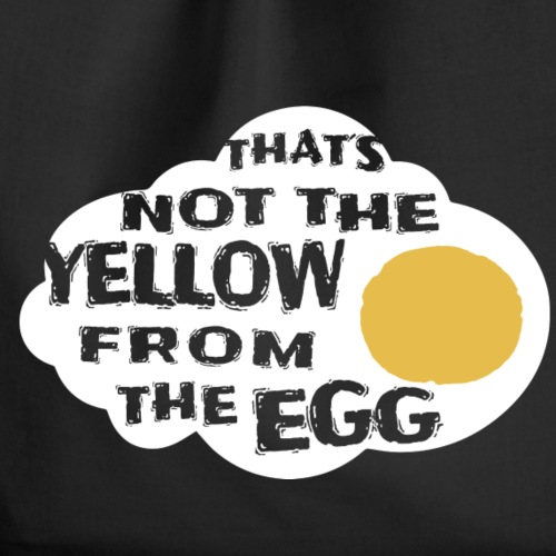 That´s not the yellow from the egg