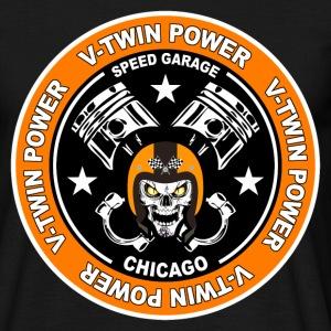 V-Twin Skull Biker