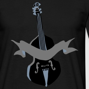 Rockabilly double bass by Patjila - Mannen T-shirt