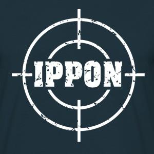 Target Judo Ippon Grunge weiss