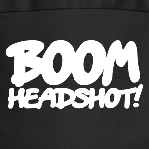 Black boom headshot! 1c UK  Aprons - Cooking Apron