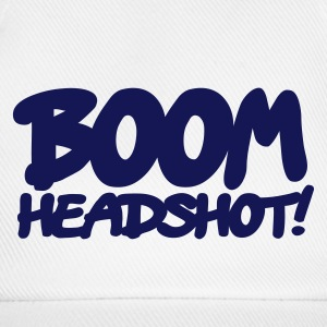 White/white boom headshot! 1c UK Caps & Hats - Baseball Cap