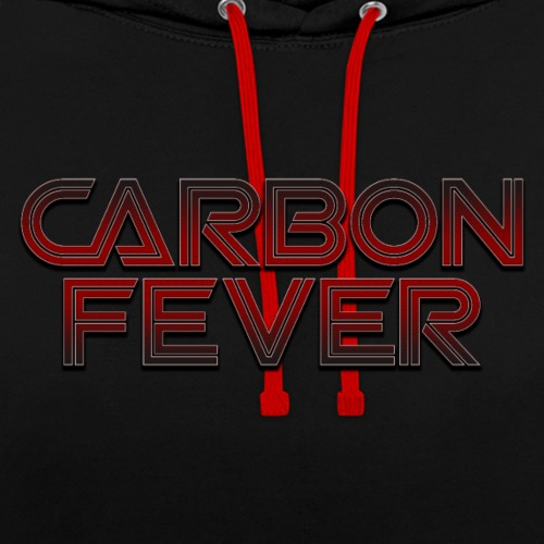 CARBON FEVER Logo black/red