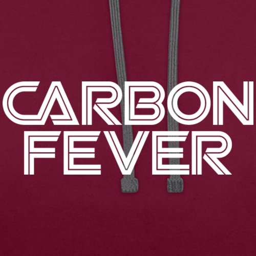 CARBON FEVER Logo white